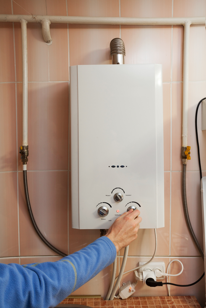 calentador electrico de agua