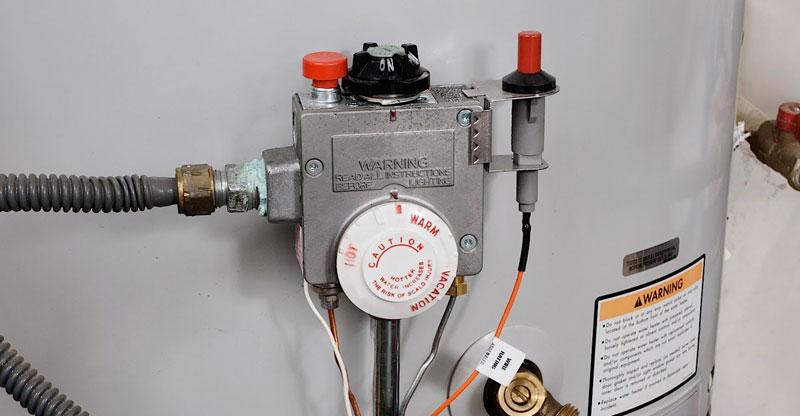 controles para calentador