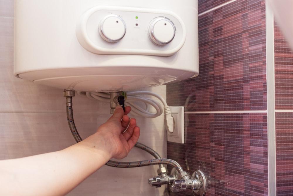 llenar calentador electrico