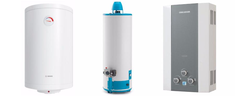 modelos de calentadores a gas