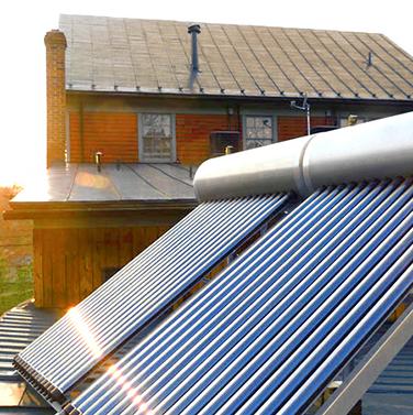 calentador de energia solar