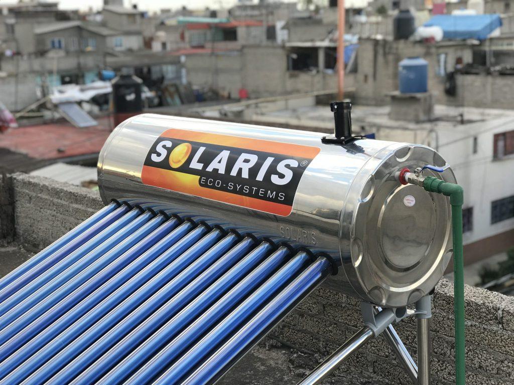calentador solar ubicación