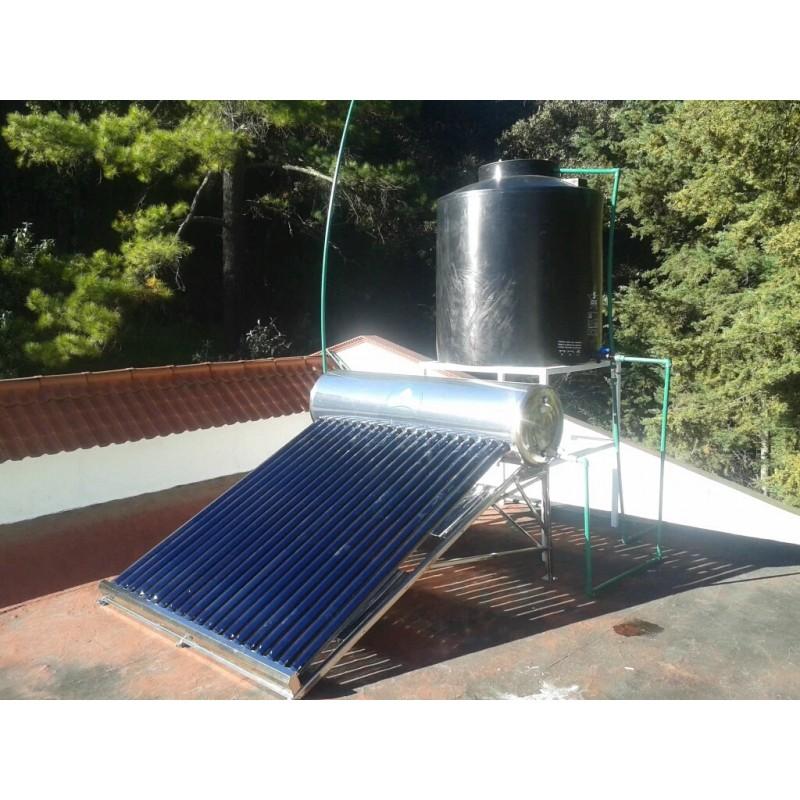instalacion correcta de calentador solar